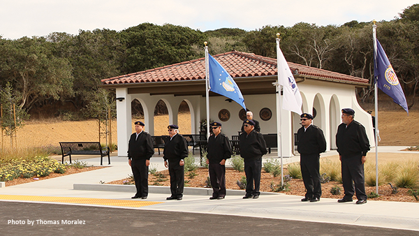 California Central Coast Veterans Cemetery ground breaking ceremony 3/13/15